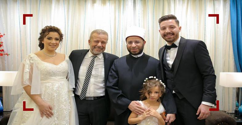 زواج أسما شريف منير و محمود حجازي