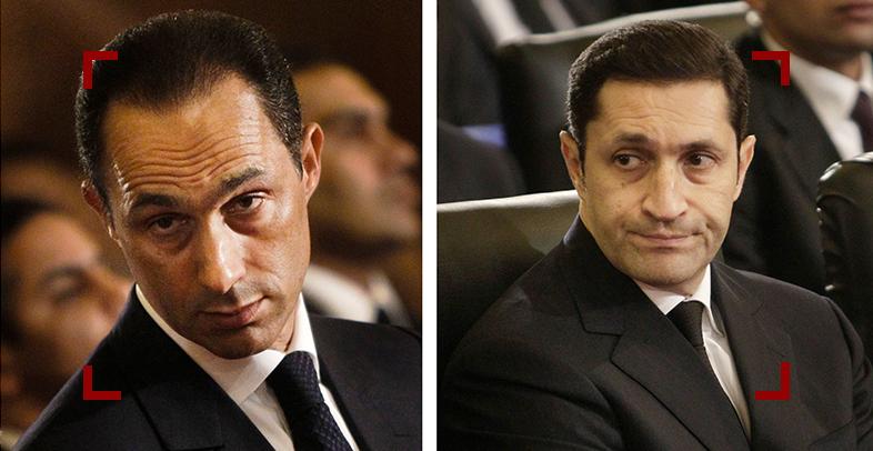 """القبض على علاء وجمال مبارك وحسن هيكل في قضية """"التلاعب بالبورصة"""""""