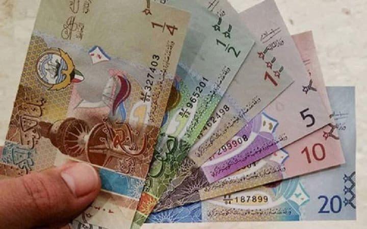 أسعار صرف العملات مقابل الدينار الكويتي اليوم الثلاثاء 31 مارس 2020