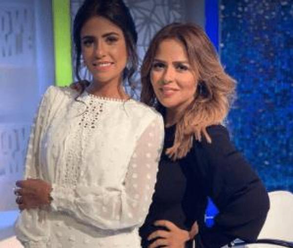 تفاصيل إصابة المذيعة المصرية دينا حويدق بفيروس كورونا وزوجة السقا من المخالطين لها