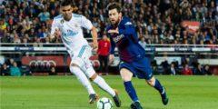 برشلونة يضغط على ريال مدريد ويرسل إسبانيول إلى الدرجة الثانية