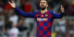 جيرارد بيكيه يخالف قواعد برشلونة