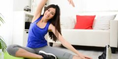 تمارين رياضية منزلية صباحية … تعطي الجسم رشاقة وأناقة