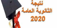 رابط فحص نتيجة الثانوية العامة في مصر 2020 بتعليمات الوزارة