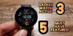 سامسونج تُطلق ساعة Galaxy Watch 3 الذكية 2021